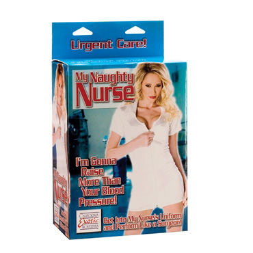 California Exotic My Naughty Nurse Любовная кукла-медсестра passion nurse