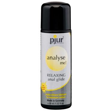 Pjur Analyse Me, 30 мл Расслабляющий анальный гель анальный согревающий лубрикант обезболивающий на силиконовой основе jo anal premium warming 60 мл