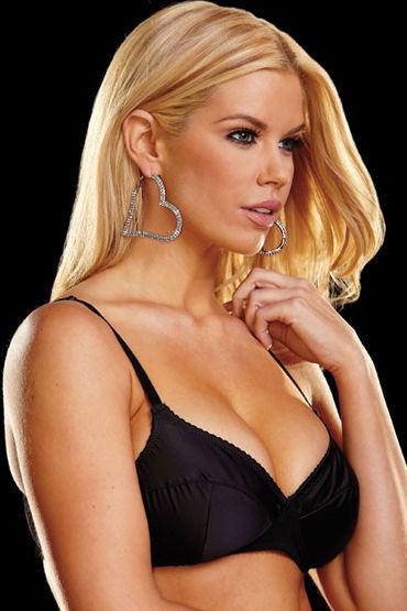 Ann Devine Heart Attack Earrings Игривые сережки-сердечки ann devine titanic heart necklace золотой цепочка с большим сердцем