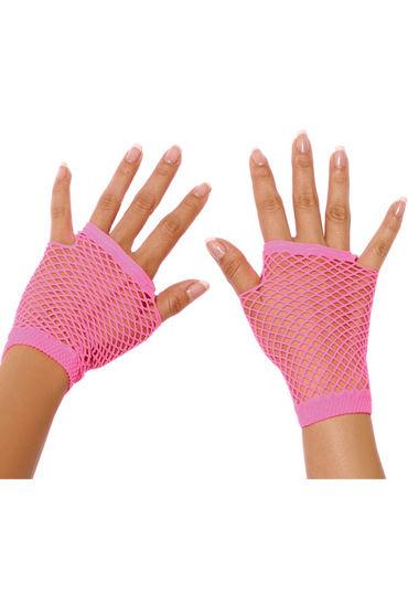 Фото - Electric Lingerie митенки, розовые Короткие, в сеточку перчатки electric lingerie в сеточку длинные фиолетовые os