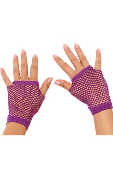 Фото - Electric Lingerie митенки, фиолетовые Короткие, в сеточку перчатки electric lingerie в сеточку длинные фиолетовые os