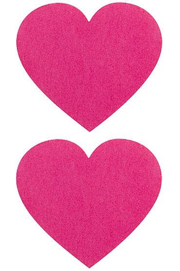 Shots Toys Nipple Sticker Hearts, розовые Пэстисы в форме сердечек 10 скорости вибрирующие беспроводную клавиатуру отопление вибратор пуля люблю яйца секс игрушек 360465