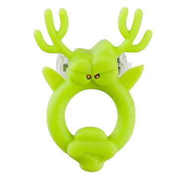 Shots Toys Rockin Reindeer Эрекционное виброкольцо в виде оленя клиторальный стимулятор venus penis