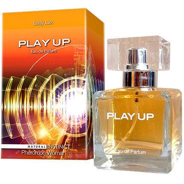 Natural Instinct Play Up для женщин, 100 мл Духи с феромонами maison close rue des demoiselles guepiere corset полупрозрачный с вырезом