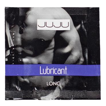 JuJu Lubricant Long, саше 3мл Пролонгирующий лубрикант белое боди emma xxl 3xl