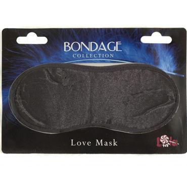 Lola Toys Bondage Love Mask, черная Маска на глаза livia corsetti catriona черный топ и чулочки