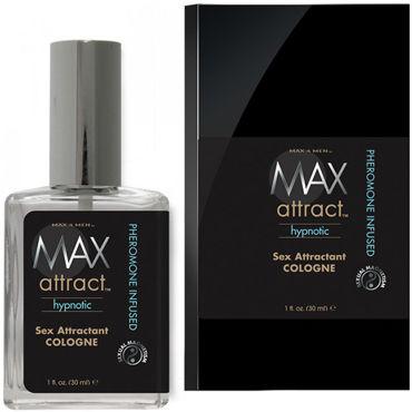 Classic Erotica Max Attract Hypnotic, 30мл Свежий мужской аромат с феромонами накладные ресницы вечерняя кадриль