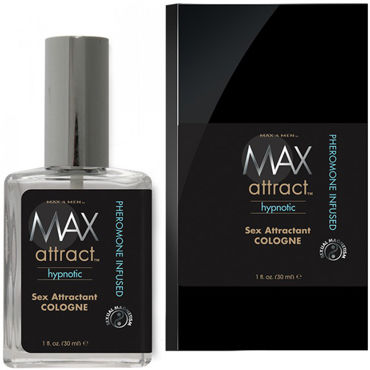 Classic Erotica Max Attract Hypnotic, 30мл Свежий мужской аромат с феромонами pjur med premium glide 4 мл гипоаллергенный силиконовый лубрикант