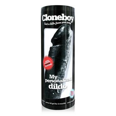 Cloneboy My Personalized Dildo, черный Набор скульптора для создания копии фаллоса и подвязки материал полиамид