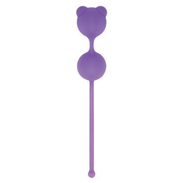 Toyz4lovers Silicone Pussynut Double, фиолетовые Вагинальные шарики toyz4lovers silicone hearty anal wand фиолетовые