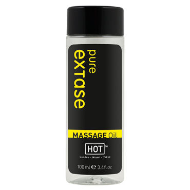 Hot Pure Extase, 100мл Массажное масло для тела desire массажное масло 150 vk g