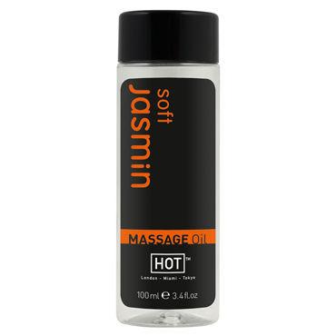 Hot Soft Jasmin, 100мл Массажное масло для тела аксессуары и батарейки цвет розовый