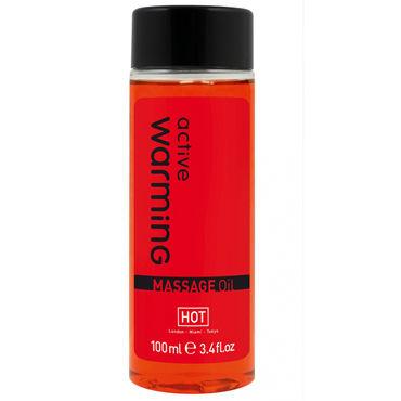 Hot Active Warming, 100мл Массажное масло для тела с разогревающим эффектом masculan classic xxl black flag