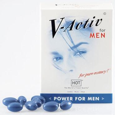 Hot V-Activ For Men, 20 капсул Для улучшения потенции белье для ролевых игр и костюмы сказочные персонажи цвет голубой