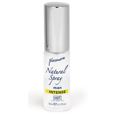 Hot Naturale Spray Man Intense, 5мл Спрей с феромонами, мужской