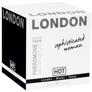Hot London Sophisticateds Woman, 30мл Женские духи с феромонами erowoman 16 женские духи с феромонами флакон ролл он 10мл