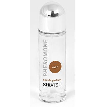 Shiatsu Pheromone Man, 25мл Духи с феромонами для мужчин desire invinsible 5 мл духи с феромонами для мужчин