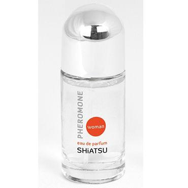 Shiatsu Pheromone Woman, 15мл Духи с феромонами для женщин shiatsu гель для ванны и душа с ароматом дикой орхидеи 400 мл