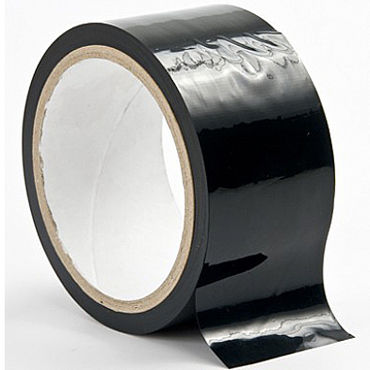 Ouch! Bondage Tape, черная Лента для бандажа lola toys spice it up ecstasy черная анальная пробка с вибрацией