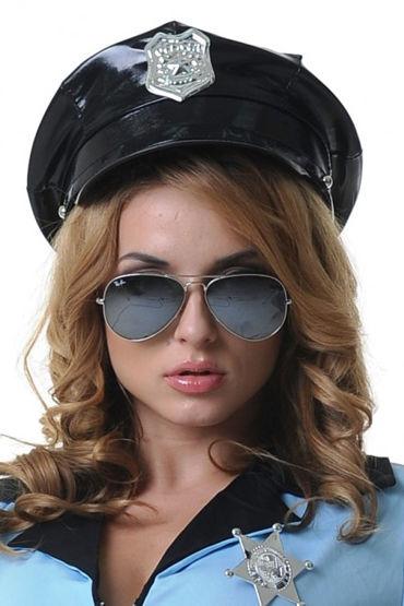 Le Frivole Фуражка с кокардой Для образа строгого копа аксессуары к новогодним костюмам киев