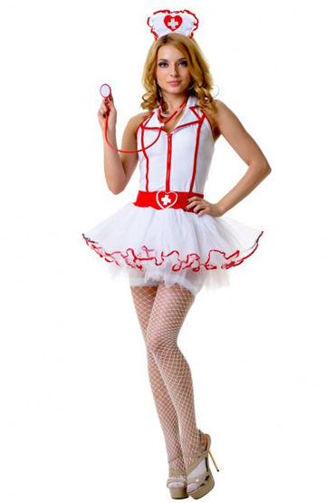 Le Frivole Костюм Медсестры С пышной юбкой sitabella маска красный украшенная сердечками