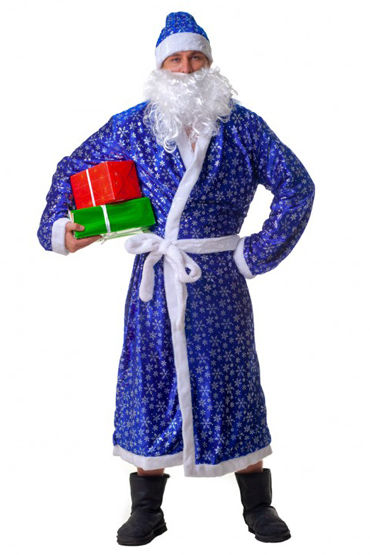 Le Frivole Дед Мороз, голубой Костюм костюм le frivole покорная горничная l xl