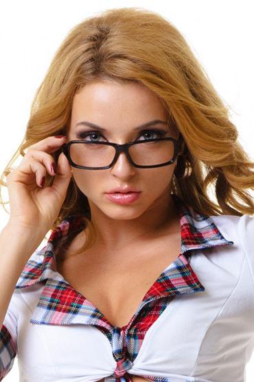 Le Frivole Карнавальные очки Без стекол le frivole мини юбка школьницы красная для ролевых игр
