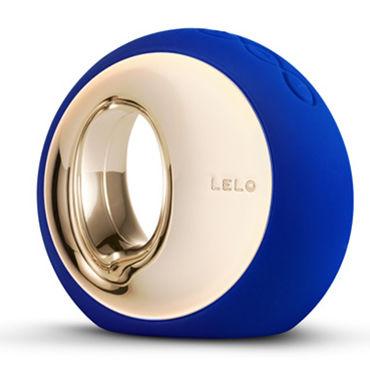 Lelo Ora 2, синий Инновационный стимулятор, имитирующий оральные ласки eroflame razzle dazzle diamond черные точки