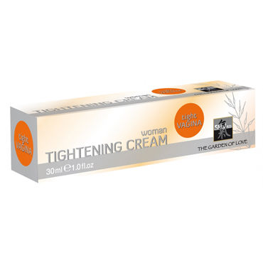 Shiatsu Tightening Cream Woman, 30мл Крем для женщин с сужающим эффектом тестер shiatsu tightening spray woman спрей для женщин с сужающим эффектом