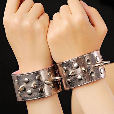 Sitabella BDSM Напульсники, бронзовые С шипами sitabella наручники золотые с подкладкой из искусственного меха