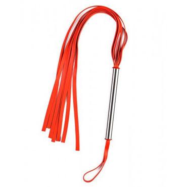 Sitabella Латексная плеть, красная С удобной петлей на ручке sitabella плеть серебристая с петлей для запястья