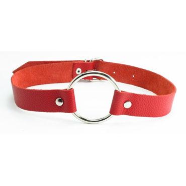 BDSM Арсенал кляп-кольцо, красный С пряжкой baile pretty love special с реалистичной головкой черная анальная пробка
