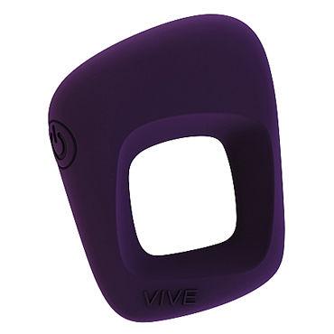 Shots Toys Vive Senca, фиолетовое Эрекционное виброкольцо shots toys vive enoki фиолетовый вибратор необычной формы