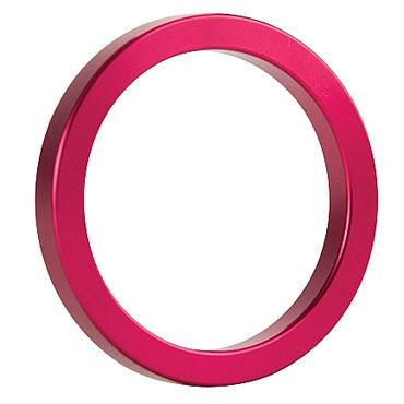 Shots Toys Metal Cockring, розовое Металлическое кольцо на пенис