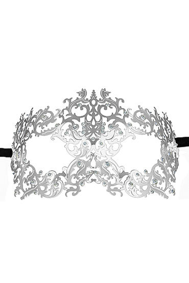 Ouch Forrest Queen Masquerade Mask, серебристая Маска на глаза в венецианском стиле ouch forrest queen masquerade mask серебристая маска на глаза в венецианском стиле