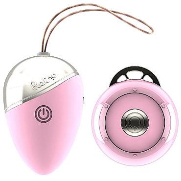 Shots Toys Retro Isley, розовое Виброяйцо с дистанционным управлением