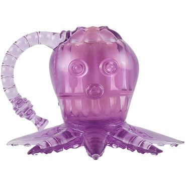 White Label Octopus, фиолетовый Вибростимулятор осьминог гибкий вибростимулятор coco violet фиолетовый