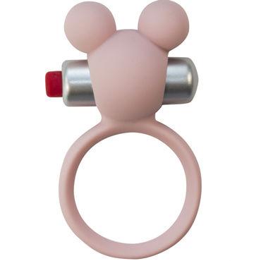 Lola Toys Emotions Minnie, светло-розовое Эрекционное виброколечко lola toys emotions funny bunny светло розовый компактная вибропуля в виде зайчика