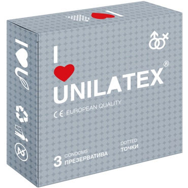 Unilatex Dotted Презервативы c пупырышками презервативы unilatex extra strong 3 шт
