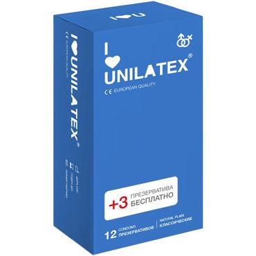 Unilatex Natural Plain Презервативы классические презервативы unilatex multifruits 12 шт 3 шт в подарок