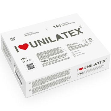 Unilatex Ultra Thin Презервативы ультратонкие презервативы unilatex ribbed 12 шт 3 шт в подарок
