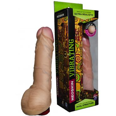 Bioclon Human Form 19 см, телесный Вибромассажёр реалистичный mystim pure vibes аналоговый электростимулятор