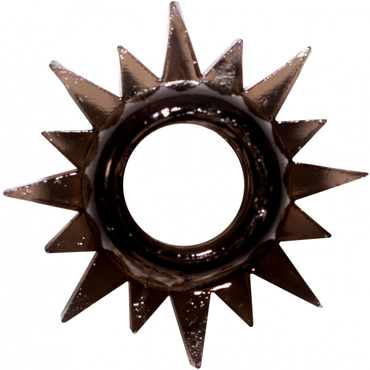 Lola Toys Rings Cristal, черное Эрекционное кольцо masculan classic xxl black flag