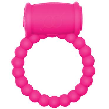 Lola Toys Rings Drums, розовое Эрекционное кольцо с вибрацией эрекционное кольцо hot cocking розовое