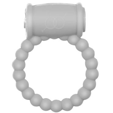 Lola Toys Rings Drums, белое Эрекционное кольцо с вибрацией hitachi magic wand синяя прямая насадка для вибромассажера