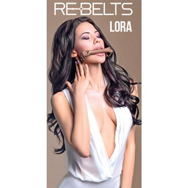 Rebelts Lora, коричневый Кляп-трензель корсет и стринги jade 3xl