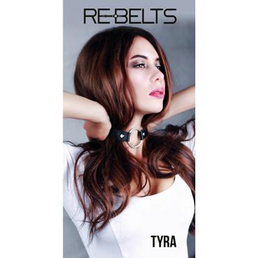 Rebelts Tyra, черный Ошейник - расширитель для рта sexus funny five вибратор оранжевый на присоске 5 режимов вибрации
