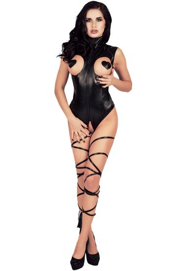 Mens dreams Боди, черное С лентами для шибари livia corsetti rafaella корсет и трусики