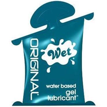 Wet Original, 10 мл Гипоаллергенный увлажняющий лубрикант bioritm intim classic 60 мл с алое вера и витамином е