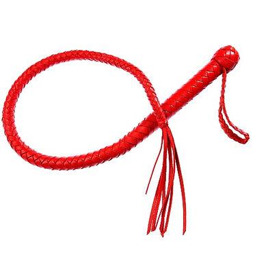Sitabella Кубанка, красная С жесткой рукояткой sitabella комета красная плеть с кожаными хвостами